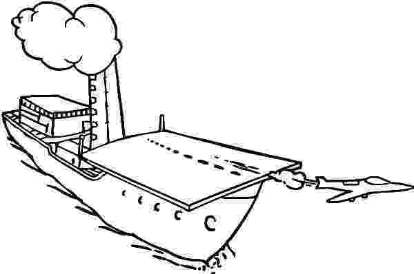 aircraft carrier coloring page jet is taking off from aircraft carrier coloring pages carrier page aircraft coloring