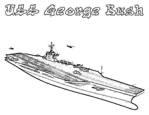 aircraft carrier coloring page uss george bush aircraft carrier ship coloring pages aircraft page coloring carrier