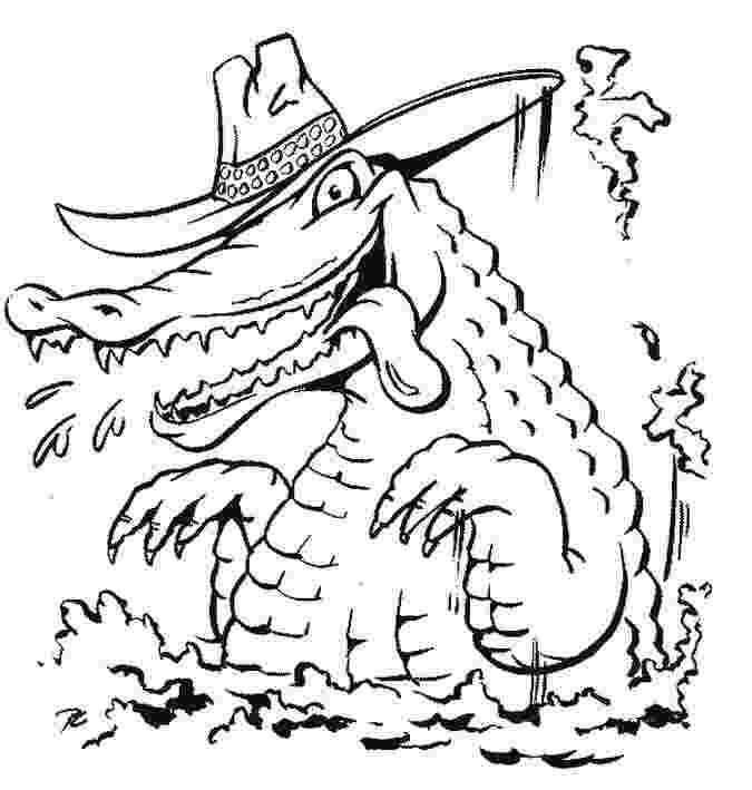 alligator color page free coloring pages crocodiles color alligator page