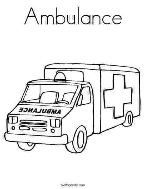 ambulance colouring pages ambulance coloring page cars coloring pages preschool ambulance pages colouring