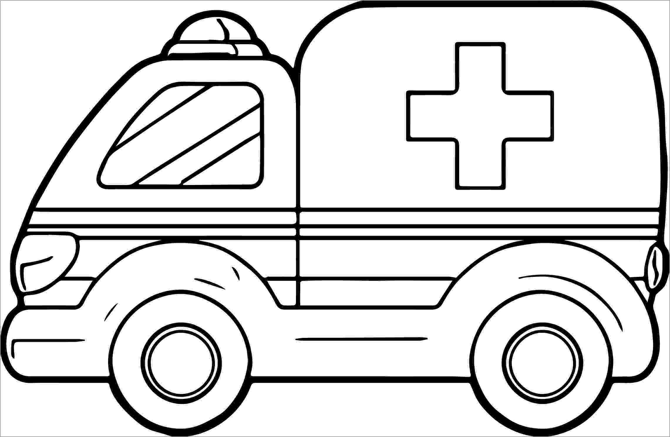 ambulance colouring pages ambulance coloring pages coloringbay colouring ambulance pages