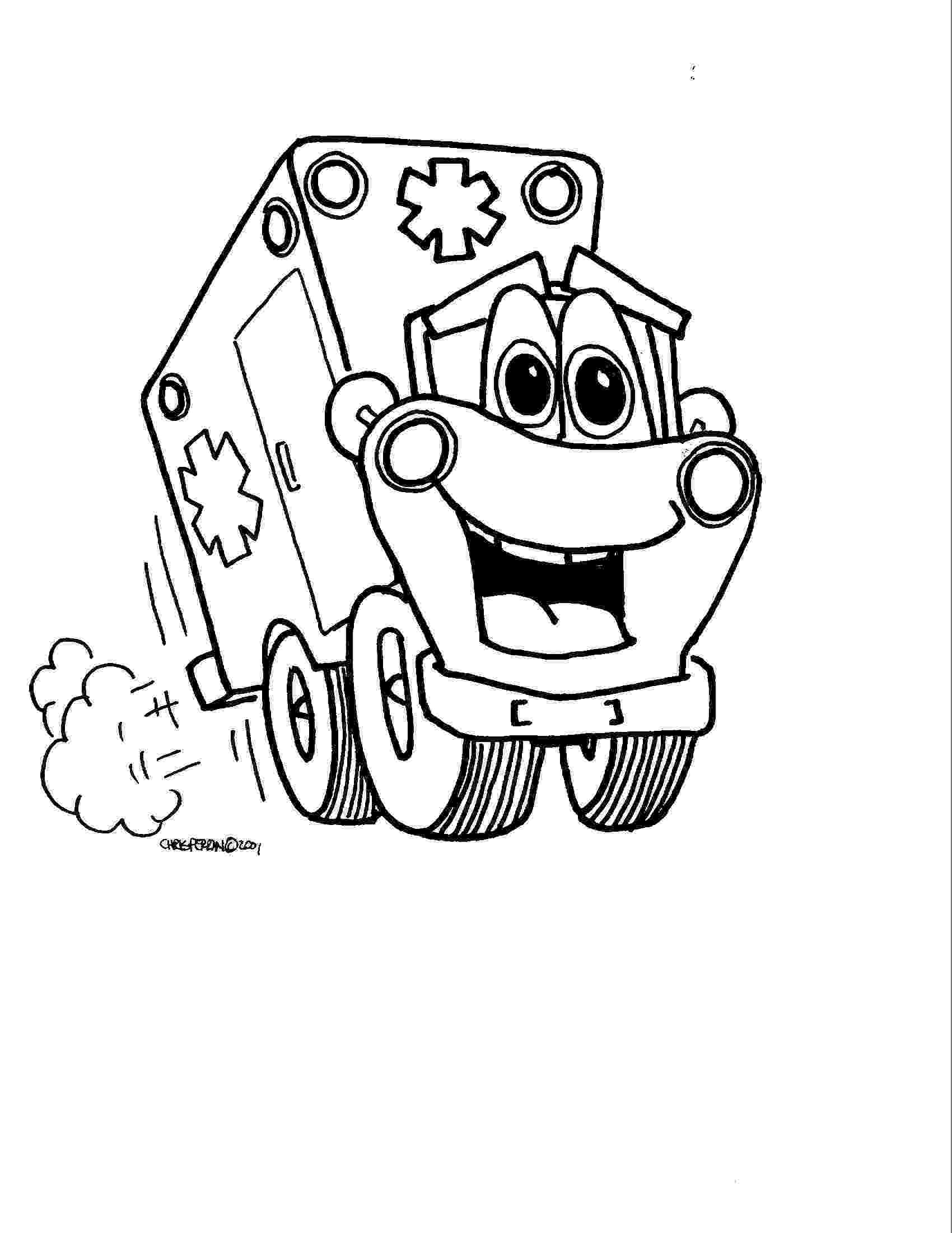 ambulance colouring pages ambulance coloring pages free printable for primaryschool colouring pages ambulance