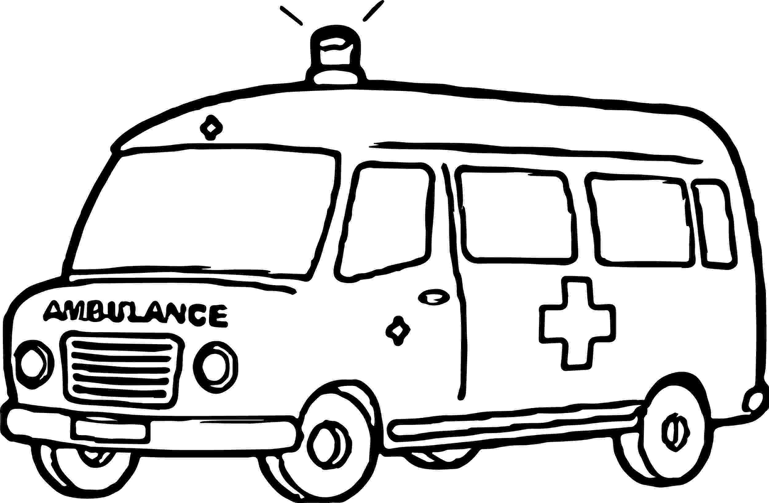 ambulance pictures to color 1000 images about kid39s first aid on pinterest to pictures color ambulance