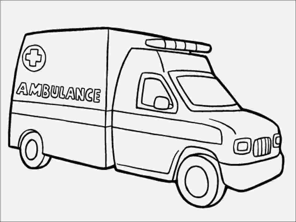 ambulance pictures to color ambulance coloring page wecoloringpagecom ambulance to color pictures