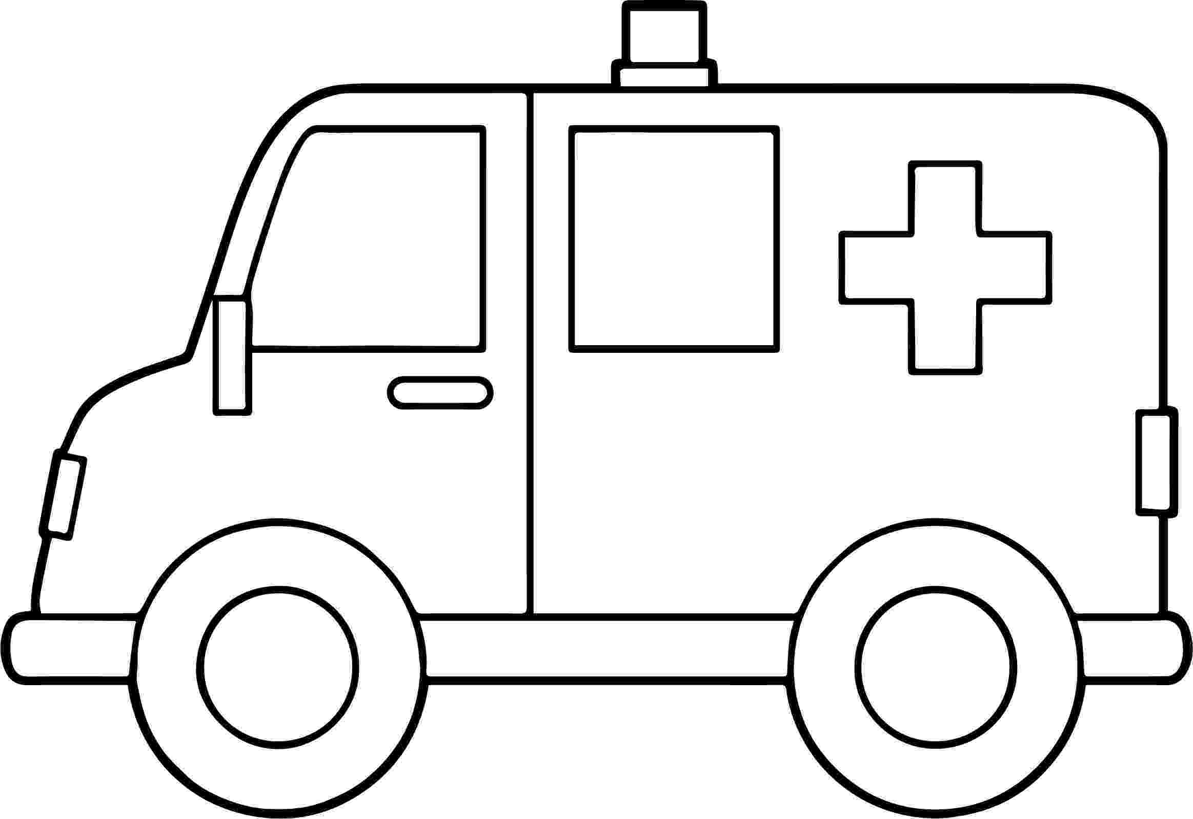 ambulance pictures to color ambulance coloring pages free printable for primaryschool to color pictures ambulance