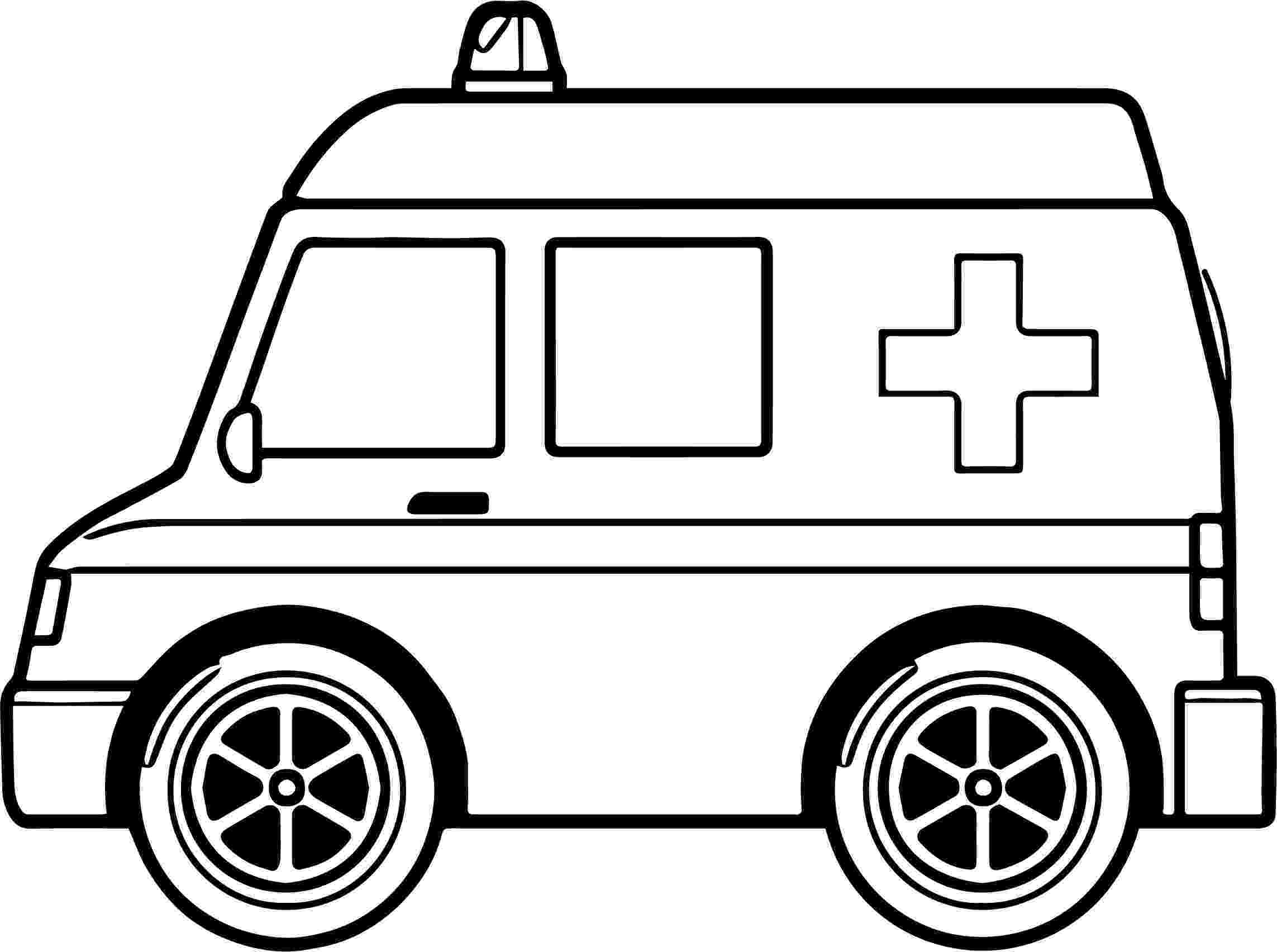 ambulance pictures to color ambulance coloring pages getcoloringpagescom pictures to ambulance color