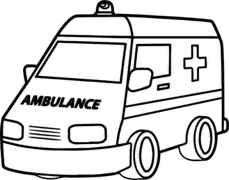 ambulance pictures to color ambulance coloring pages getcoloringpagescom to ambulance pictures color 1 1
