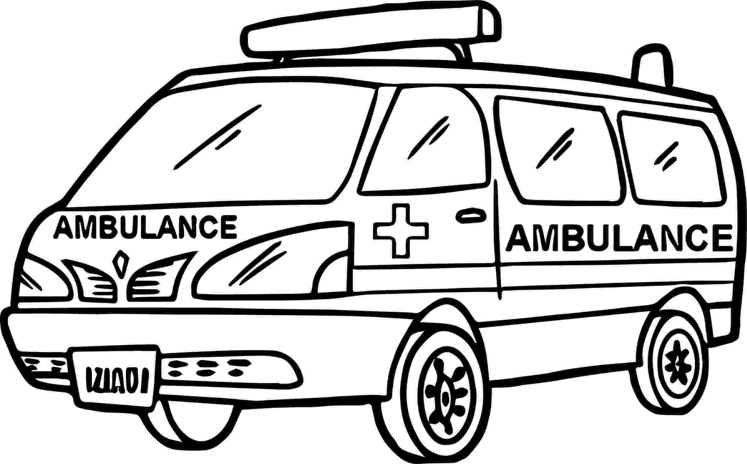 ambulance pictures to color ambulance coloring pages to download and print for free to pictures ambulance color 1 1