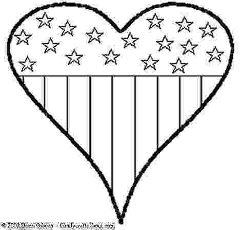 american flag heart coloring page 4th of july coloring pages 4th of july patriotic heart coloring american page heart flag