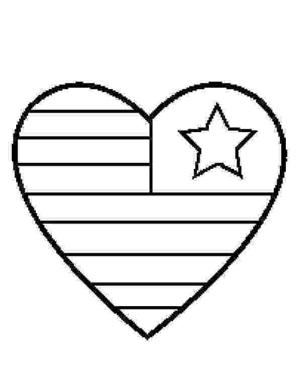american flag heart coloring page free printable 4th of july coloring pages paper trail design heart american page flag coloring