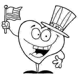 american flag heart coloring page heart shaped american flag clip art flag page coloring american heart