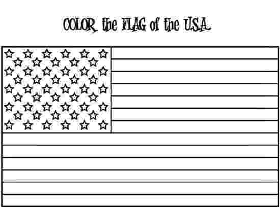 american flag to color american flag coloring page w free extension activities american to color flag