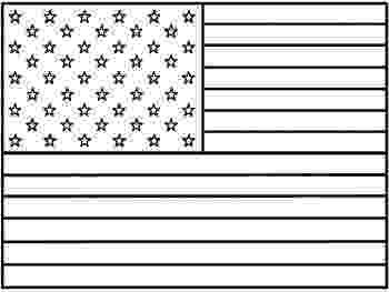 american flag to color american flag coloring pages best coloring pages for kids to color american flag