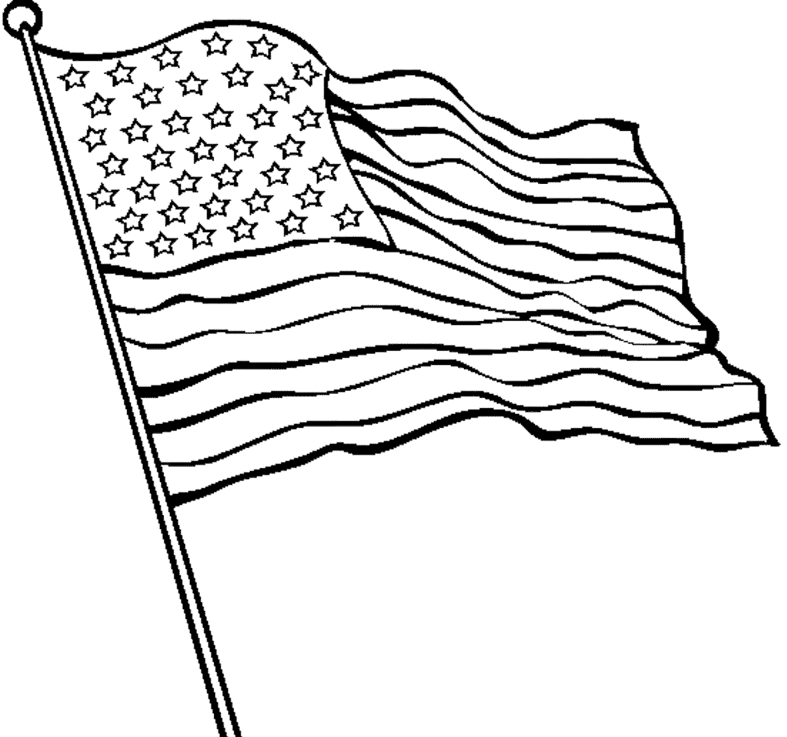 american flag to color american flag coloring pages getcoloringpagescom american flag color to