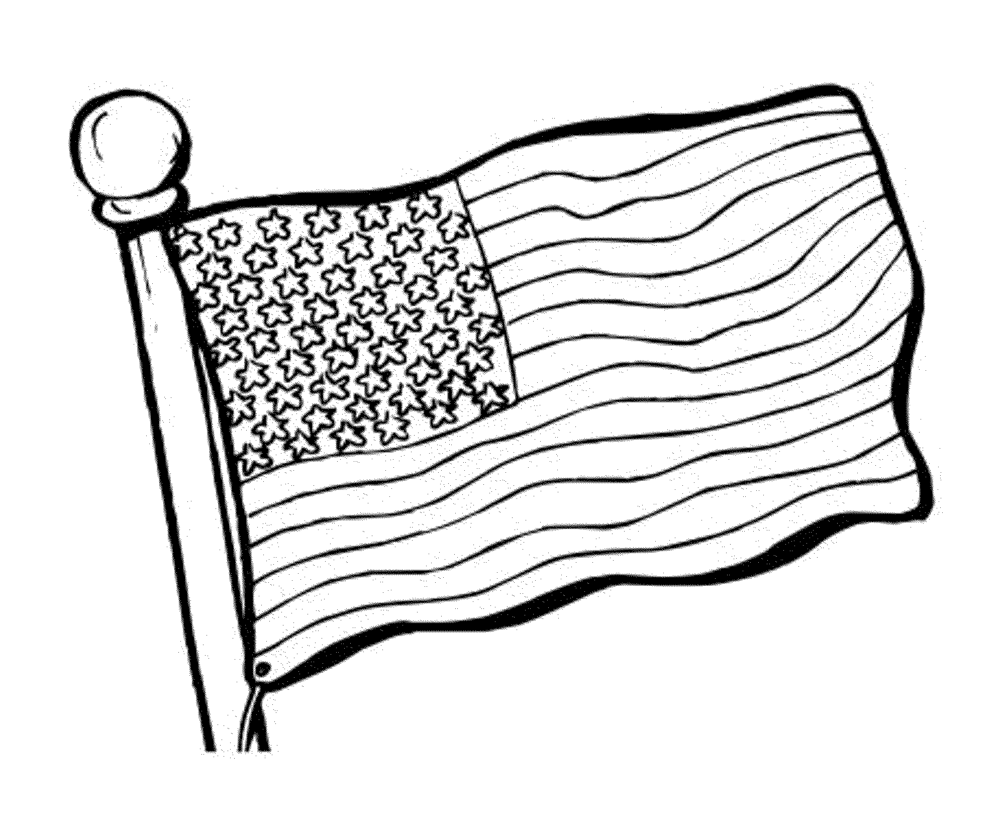 american flag to color free coloring american flags to print to american color flag