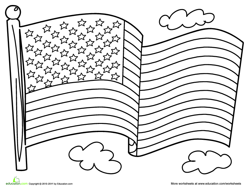 american flag to color original american flag coloring page bestappsforkidscom to american color flag