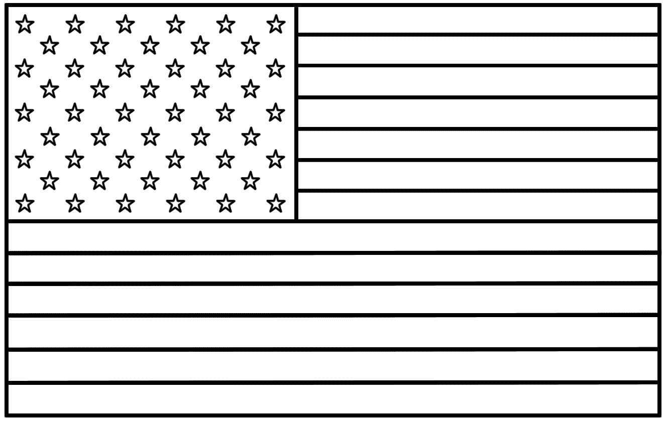 american flag to colour american flag coloring page for the love of the country american colour to flag