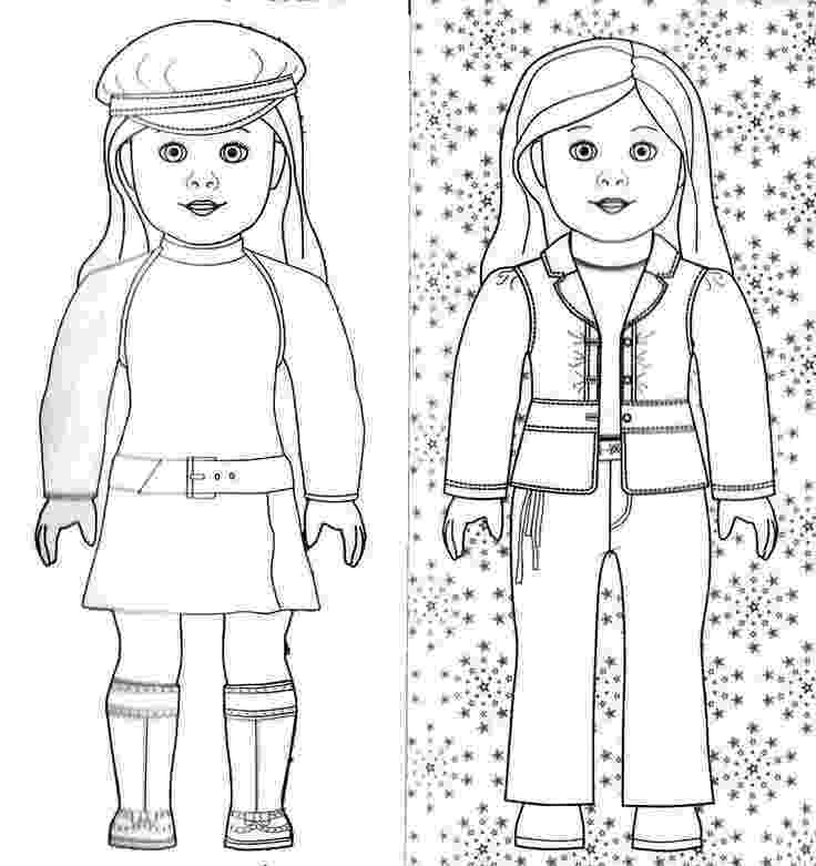 american girl doll coloring pages american girl isabelle doll coloring page free printable coloring girl pages doll american
