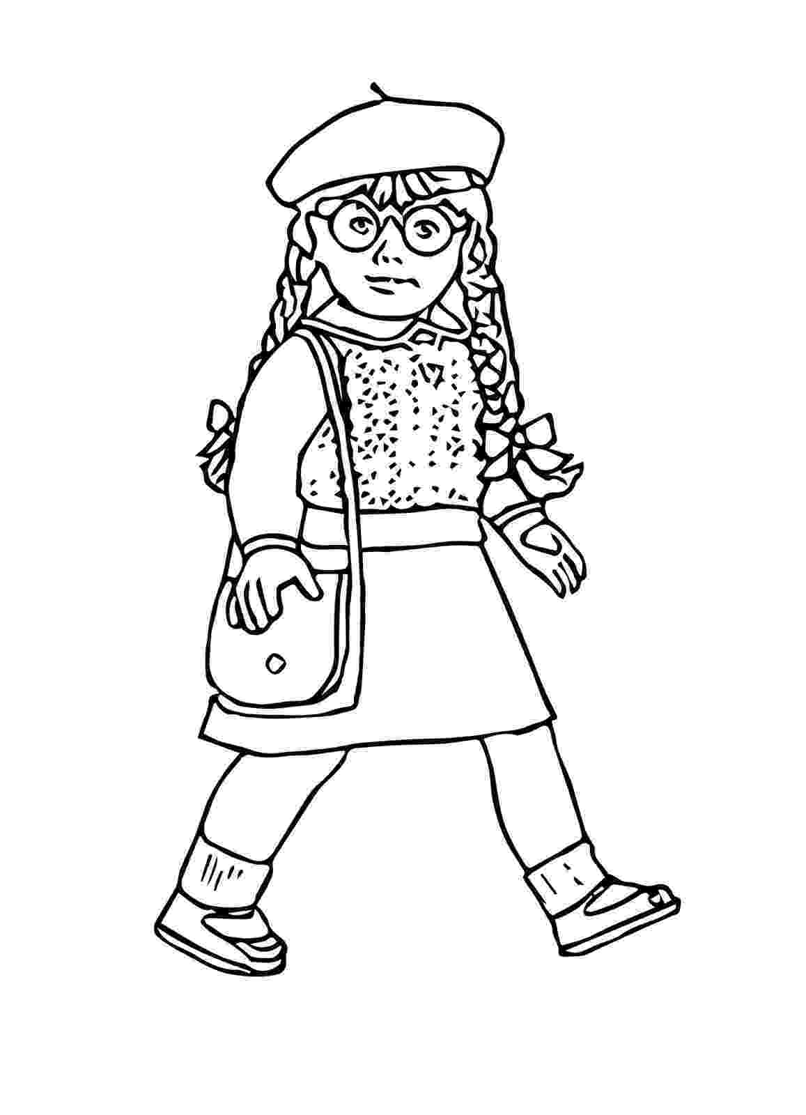 american girl doll coloring pages doll coloring pages getcoloringpagescom pages girl american coloring doll