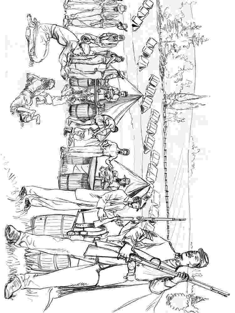 american revolution coloring pages american revolution scene war in city coloring page pages revolution american coloring