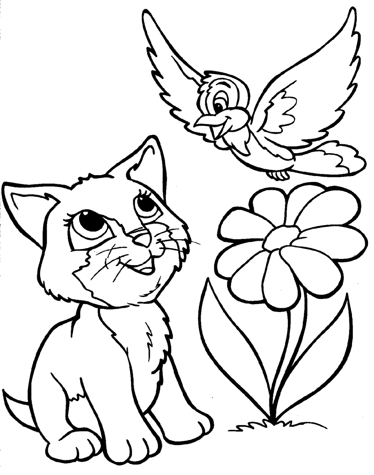 animal coloring pages for kids cartoon animals all coloring page wecoloringpagecom coloring kids pages for animal