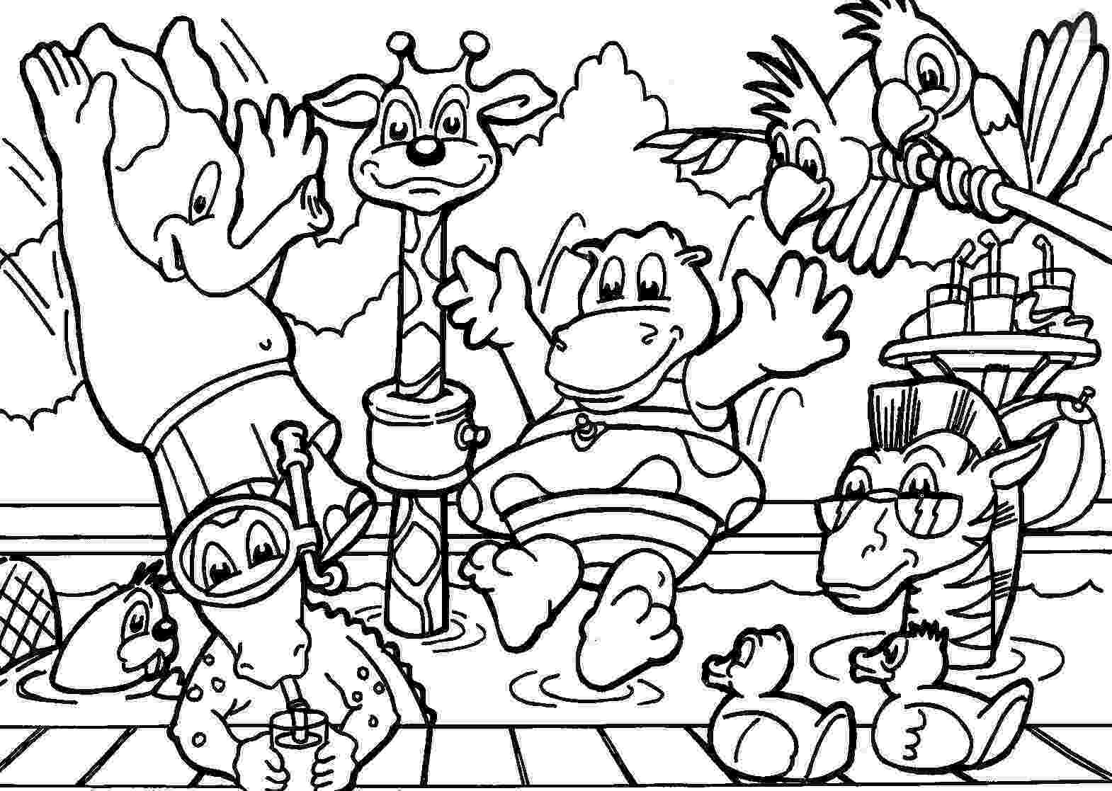 animal coloring sheets cartoon animals coloring pages for kids gtgt disney coloring animal coloring sheets