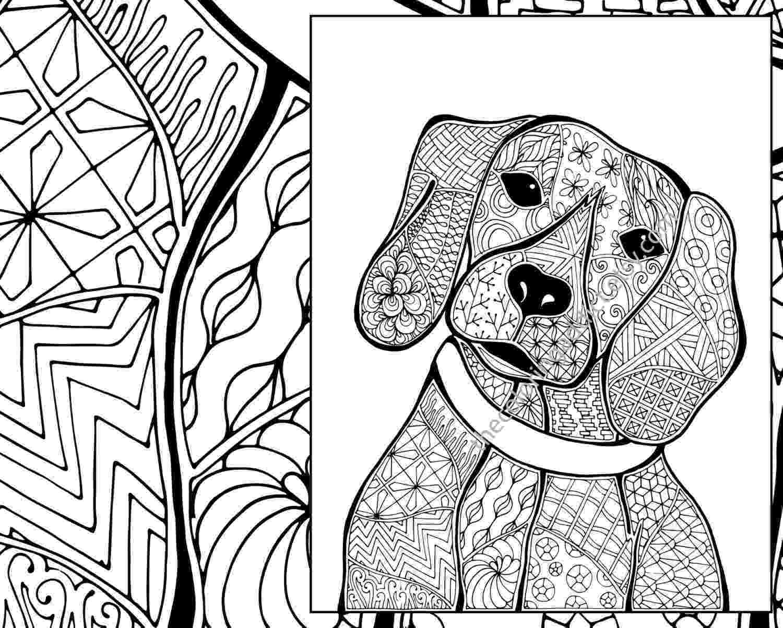 animal coloring sheets zentangle dog colouring page animal colouring zentangle animal coloring sheets
