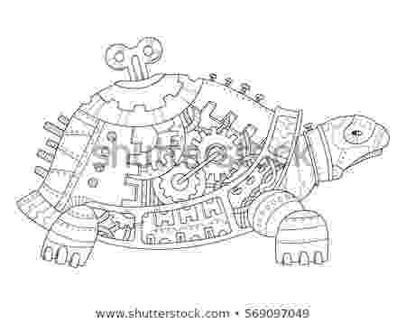 animal mechanicals coloring sheets cartoon funny underwater life animals colorful stock mechanicals coloring animal sheets