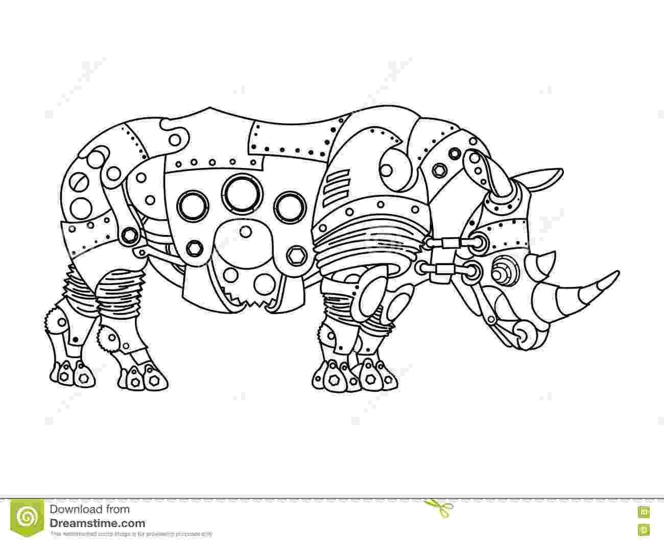 animal mechanicals coloring sheets horse coloring book for adults vector stock vector sheets mechanicals coloring animal