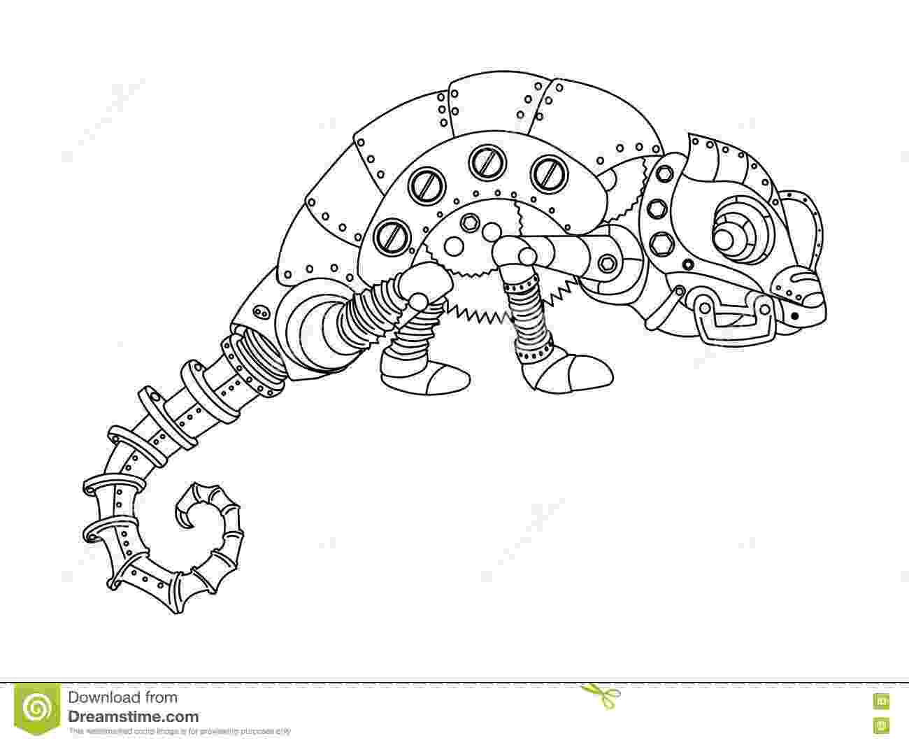 animal mechanicals coloring sheets mechanical bear animal engraving vector bear mechanical mechanicals coloring sheets animal