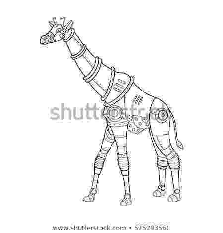 animal mechanicals coloring sheets steampunk style crab mechanical animal coloring stock sheets animal mechanicals coloring