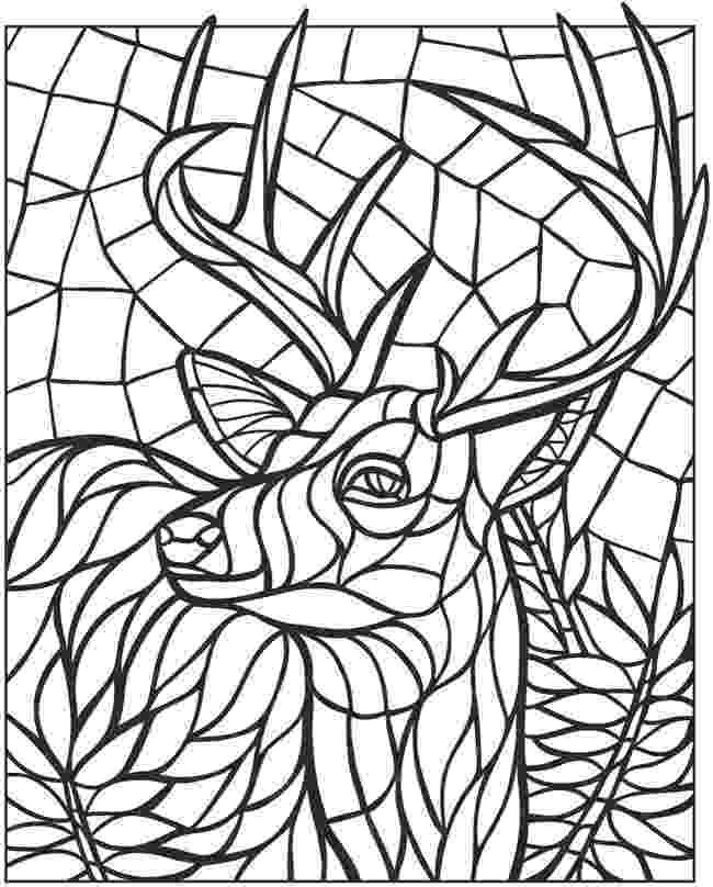 animal mosaic coloring pages animal mosaic coloring pages at getcoloringscom free animal coloring mosaic pages
