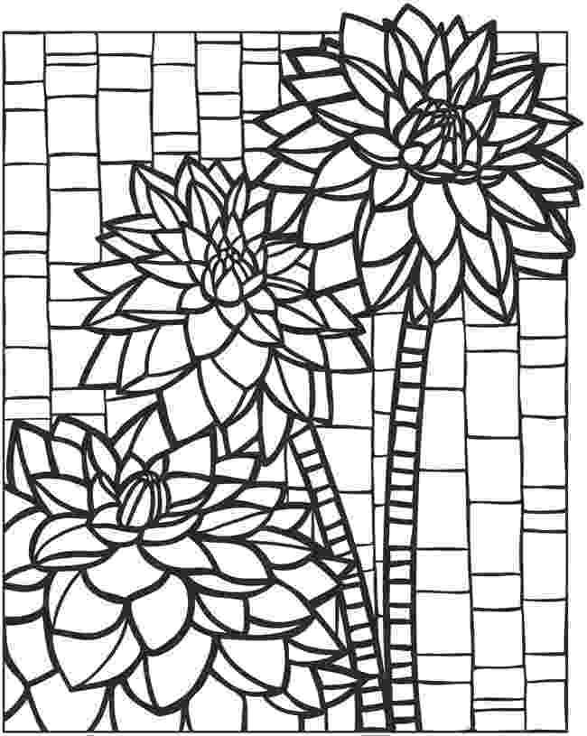 animal mosaic coloring pages eagle mosaic coloring coloring books dover coloring pages mosaic animal coloring