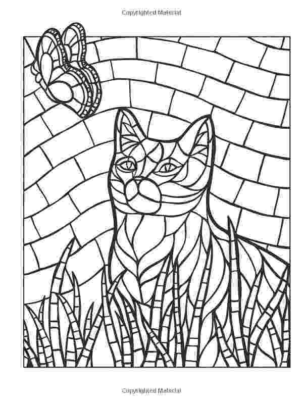 animal mosaic coloring pages mosaic coloring pages kidsuki coloring animal mosaic pages