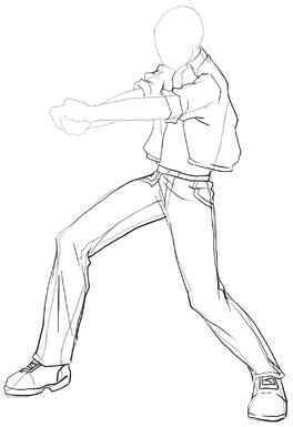 anime boy body draw manga male fleshing out athletic sketch book anime body boy