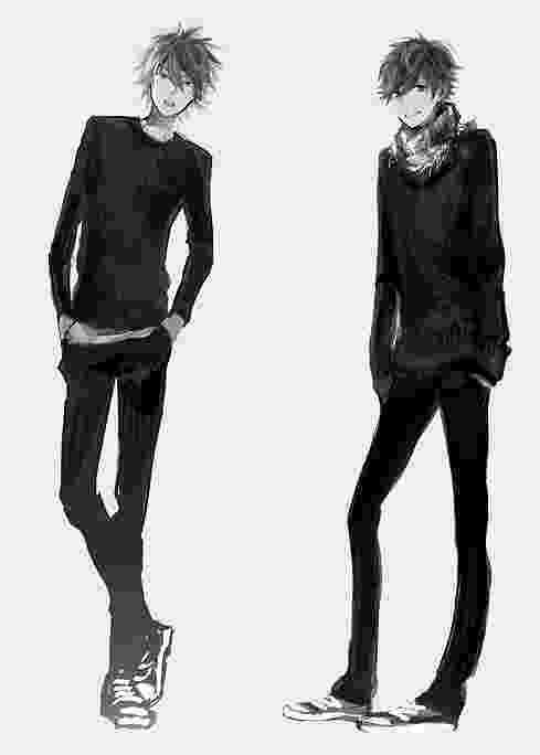 anime boy body drawing male and female manga bodies tutorial how to body boy anime
