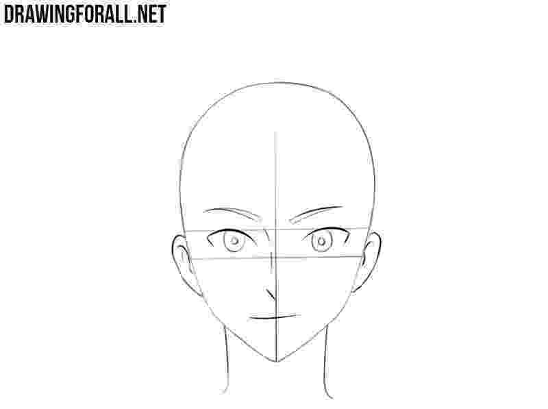 anime boy head animestepbystepdrawinghead how to draw manga heads anime boy head