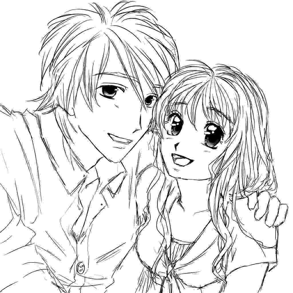 anime couple coloring pages 56 cute anime couples coloring pages cute anime couple pages coloring couple anime