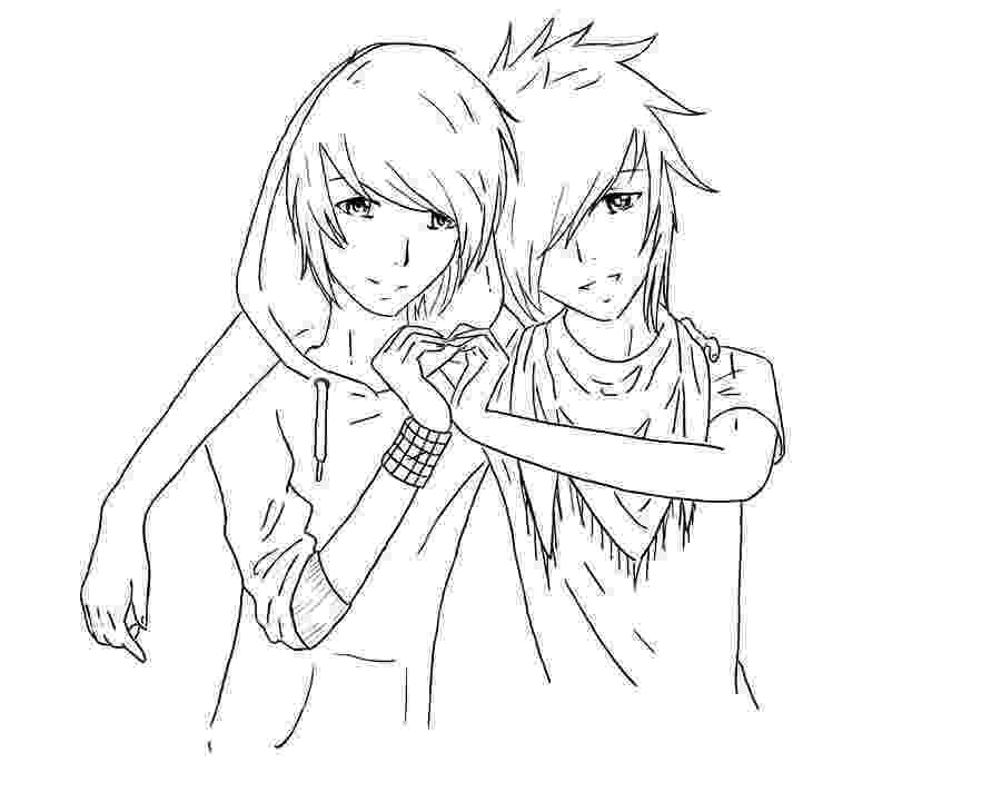 anime couple coloring pages couple by miyakies on deviantart coloring pages anime couple