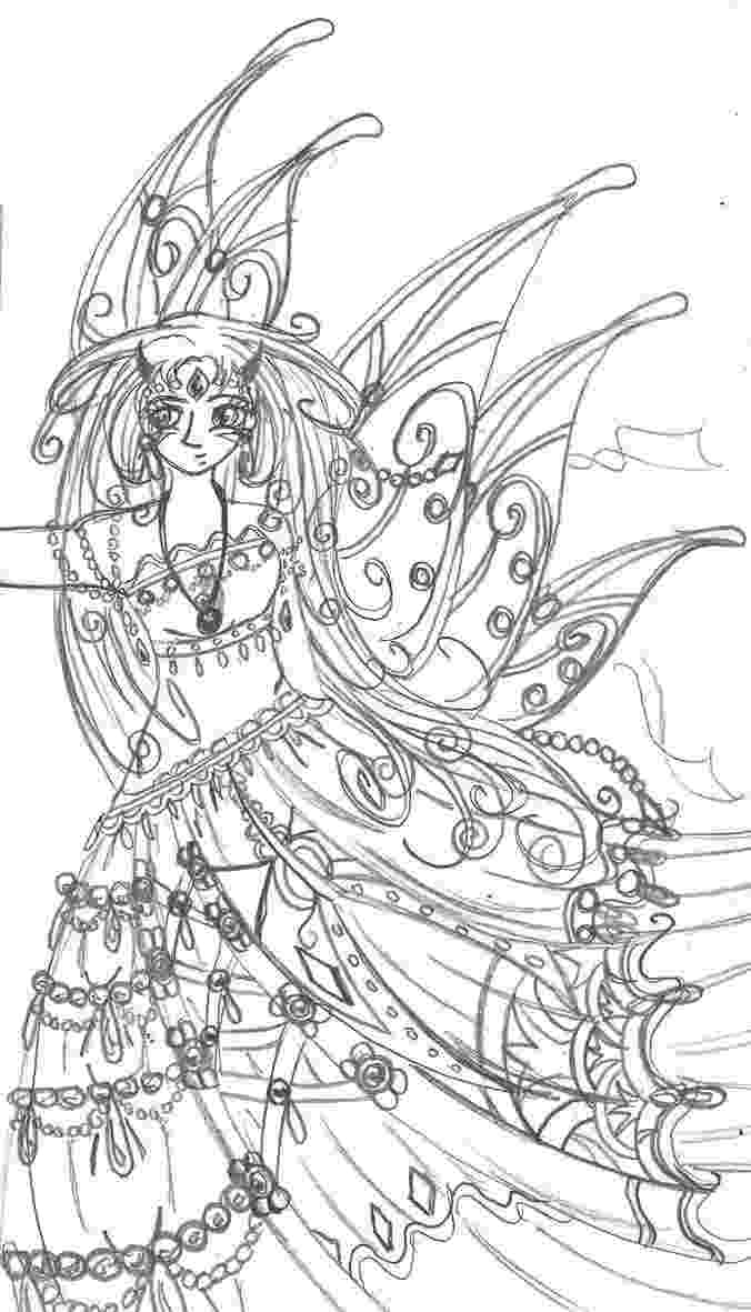 anime fairy coloring pages fantasy anime coloring pages coloring home pages coloring anime fairy