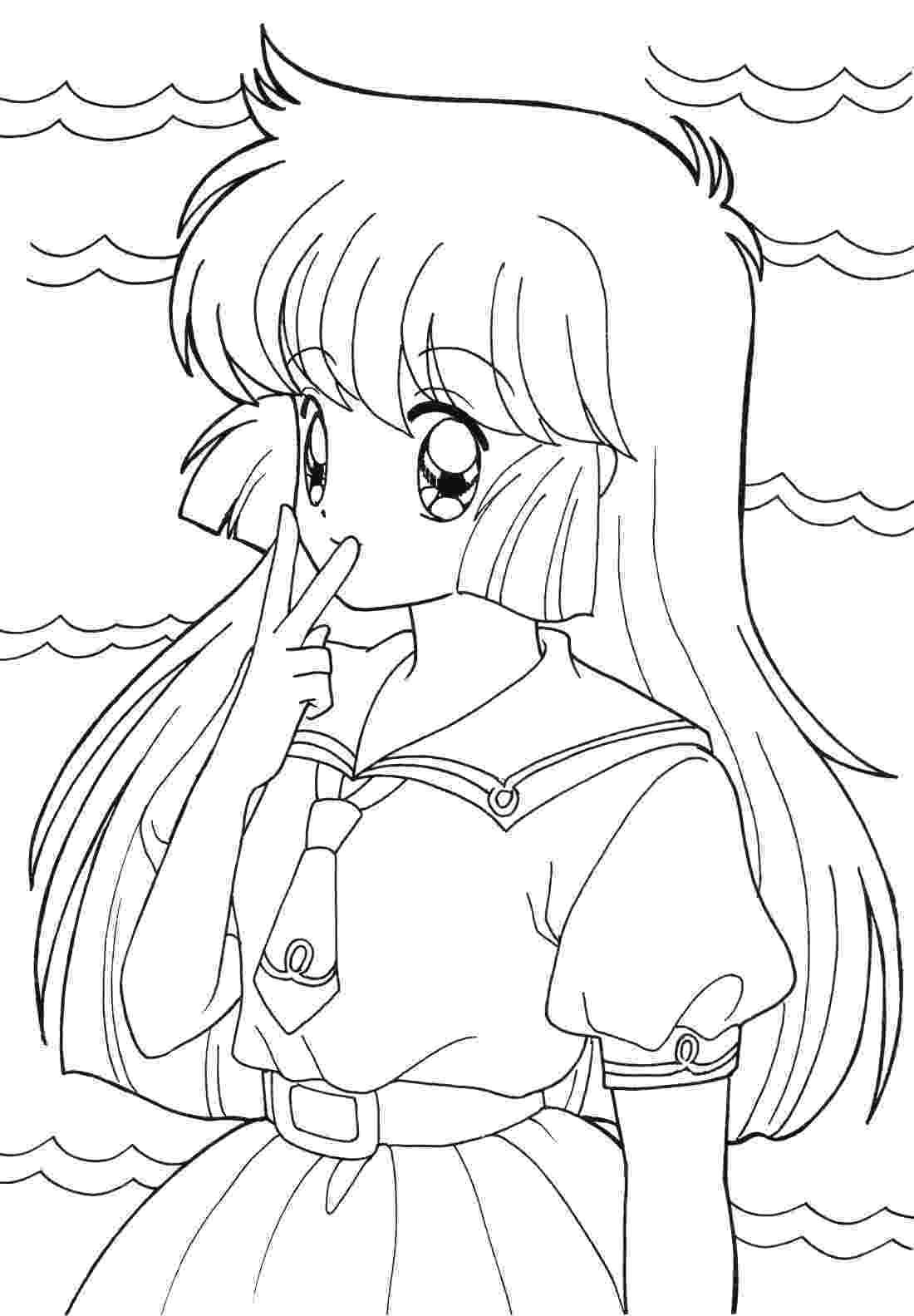anime girl coloring sheets anime coloring pages best coloring pages for kids coloring girl anime sheets