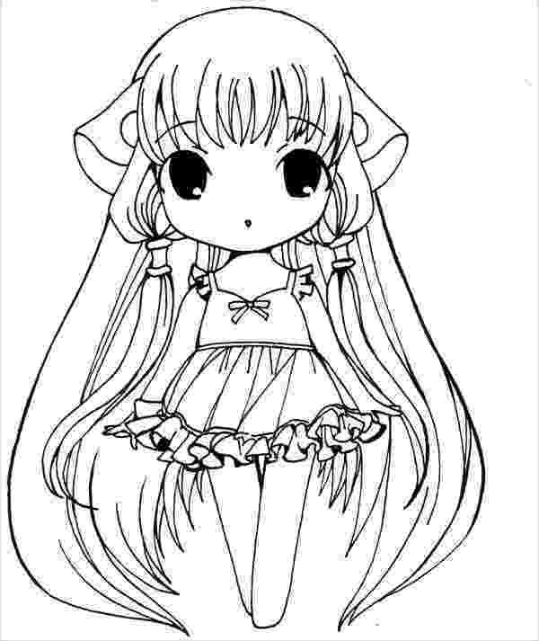 anime girl coloring sheets anime coloring pages getcoloringpagescom anime girl sheets coloring