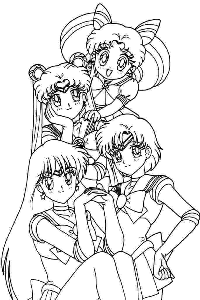 anime girl coloring sheets anime coloring pages getcoloringpagescom anime sheets girl coloring