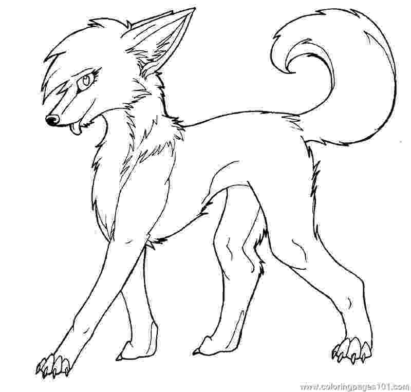 anime wolf coloring pages free printable wolf coloring pages for kids anime pages wolf coloring