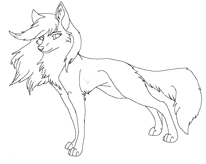 anime wolf coloring pages lineart wolf new 1 by raven morticia on deviantart wolf coloring pages anime