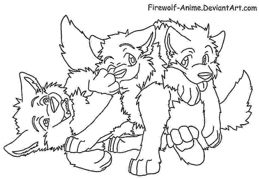 anime wolf coloring pages wolf float lineart by firewolf anime on deviantart pages anime coloring wolf