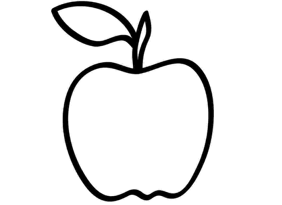 apple coloring free printable apple coloring pages for kids apple coloring 1 1
