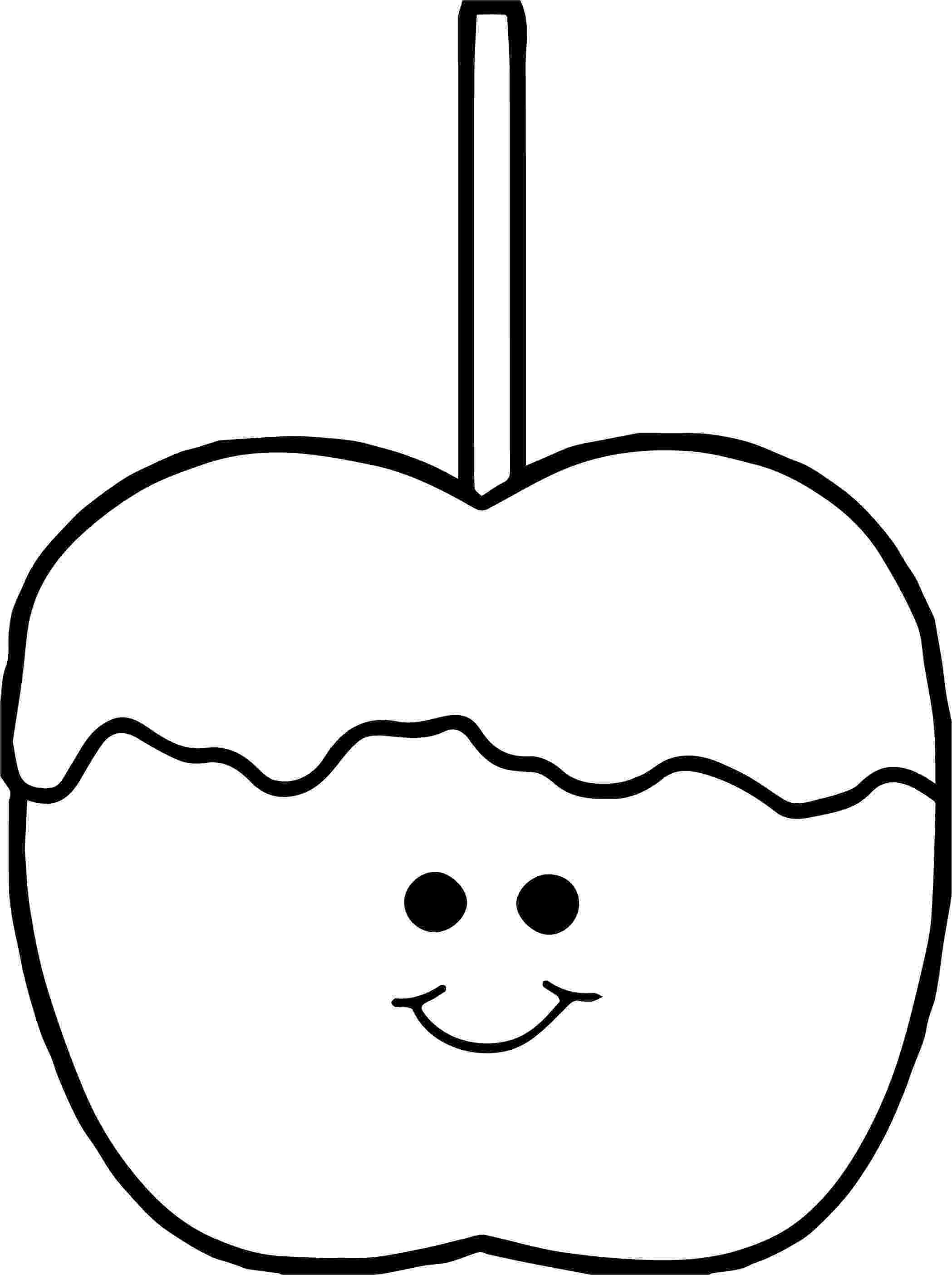 apple coloring images awesome cute caramel apple coloring page apple coloring coloring apple images
