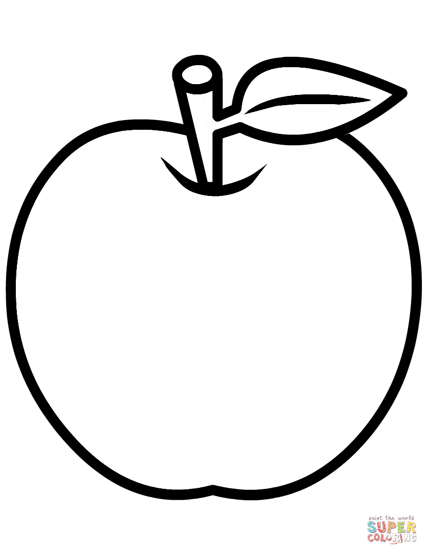 apple for coloring free printable apple coloring pages for kids for apple coloring
