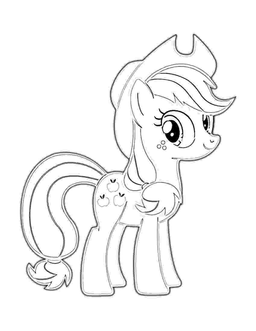 applejack pony coloring pages my little pony applejack coloring page free coloring pages pony coloring applejack